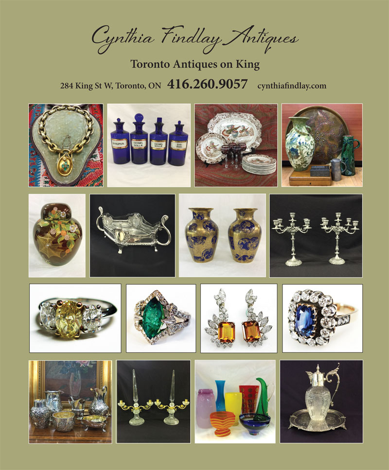 Canadian Antiques and Vintage Magazine November Ad